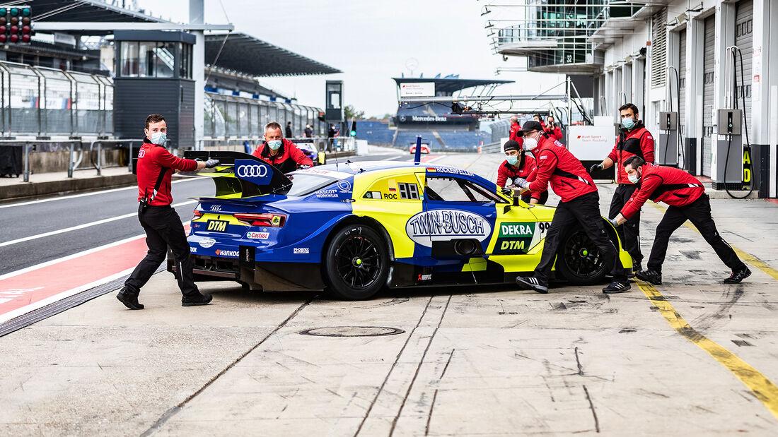 Rene Rast - Audi RS 5 - DTM - Testfahrten - Nürburgring - 8. Juni 2020