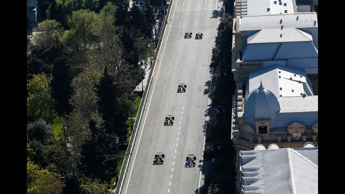 Rennen - Formel 1 - GP Aserbaidschan 2019
