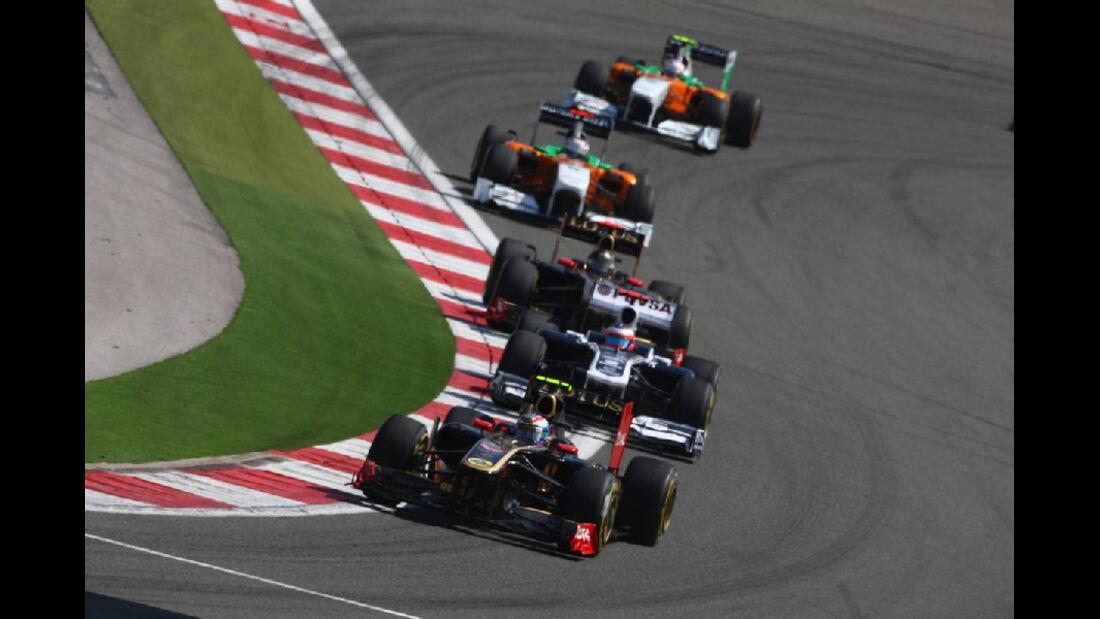 Rennen GP Türkei 2011
