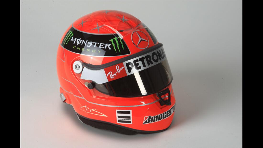 Rennfahrer-Helm