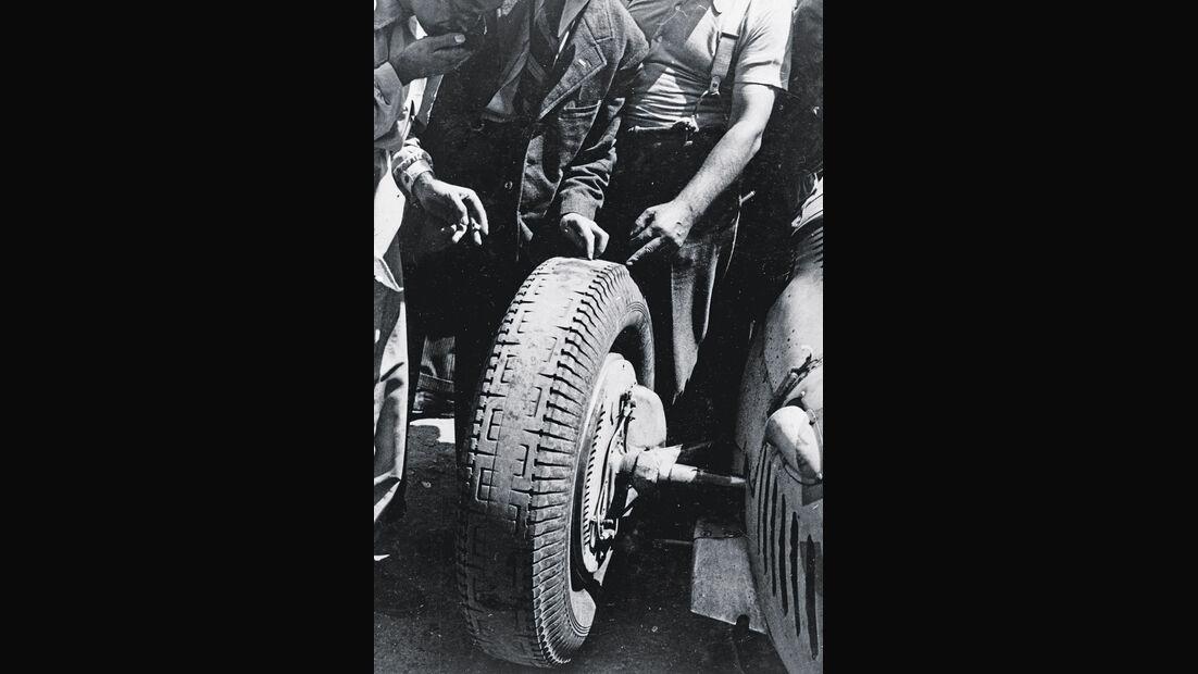 Rennreifen der 30er Jahre, Reifencheck