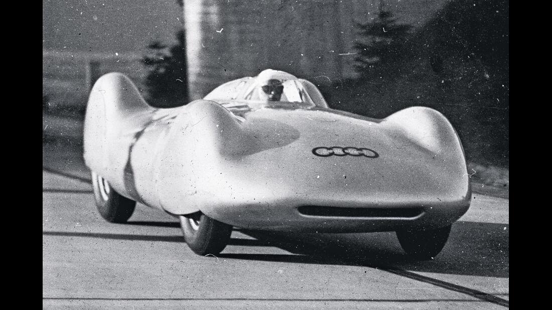 Rennreifen der 30er Jahre, Rosemeyer, Rekordfahrt