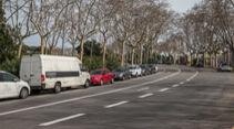 Rennstrecke - Montjuich Park - Barcelona