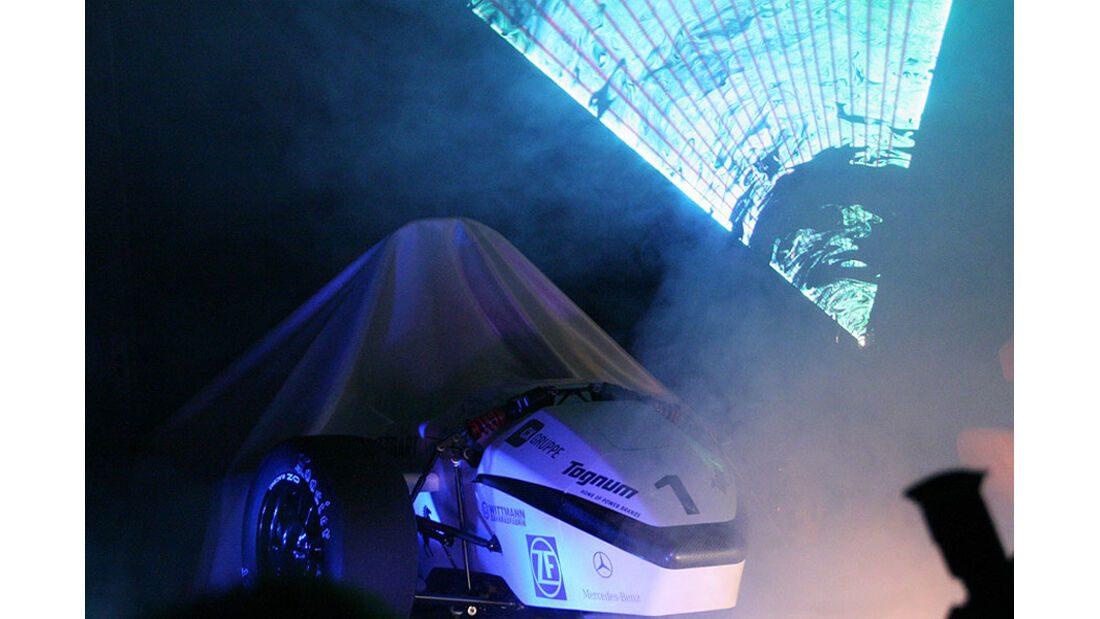 Rennwagen F-0711-5 Lasershow