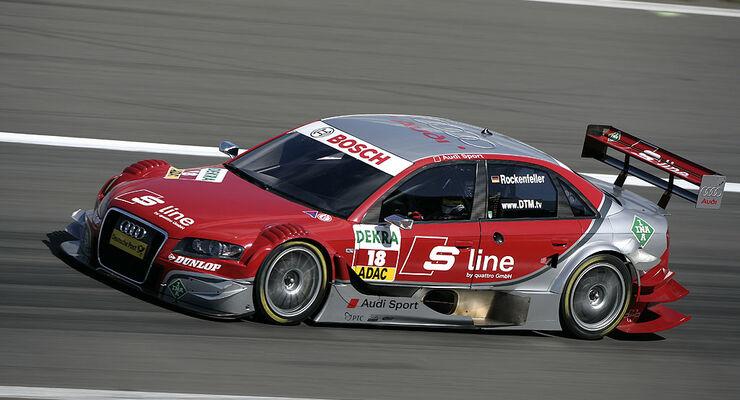 Rennwagen von Audi Sport Team Rosberg
