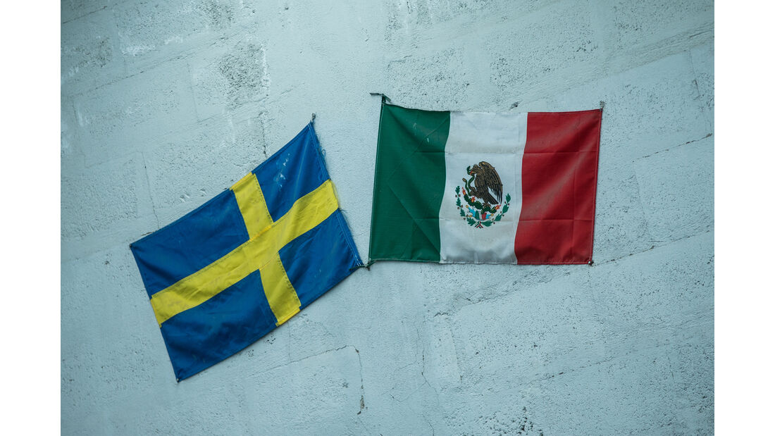 Rennwagenschmiede in Mexiko, Panamericana, Impression