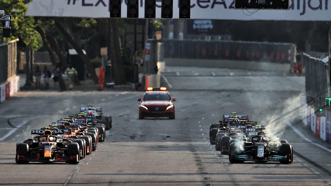 Restart - Formel 1 - GP Aserbaidschan 2021