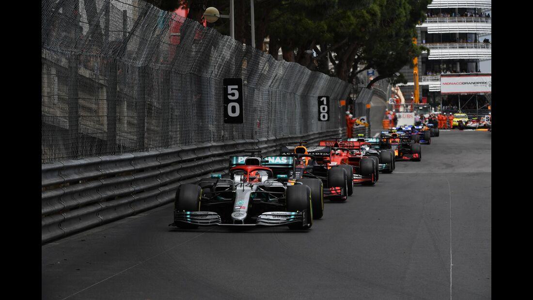 Restart - Formel 1 - GP Monaco - 26. Mai 2019