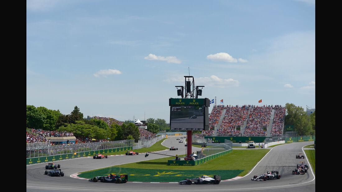 Restart - GP Kanada 2014