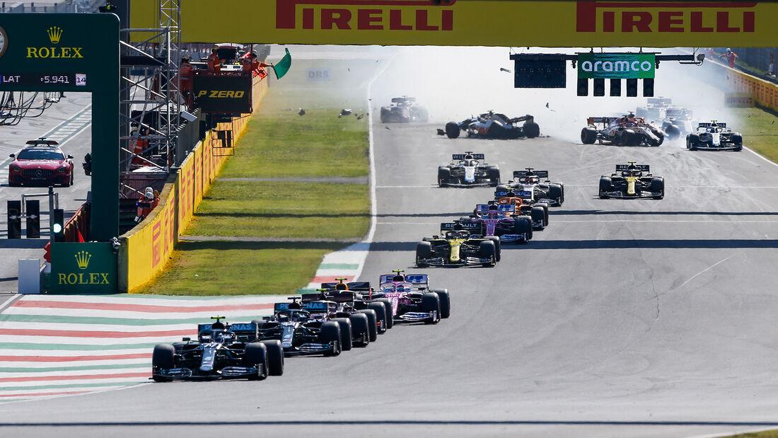 Restart - GP Toskana  - Mugello - Formel 1 - 2020