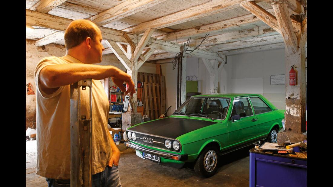 Restaurierung Audi 80 GTE
