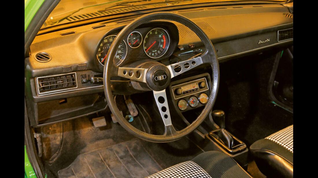 Restaurierung Audi 80 GTE, Innenraum, Cockpit