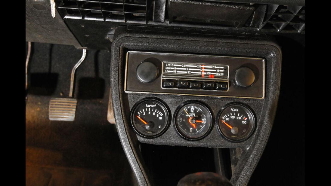 Restaurierung Audi 80 GTE, Radio