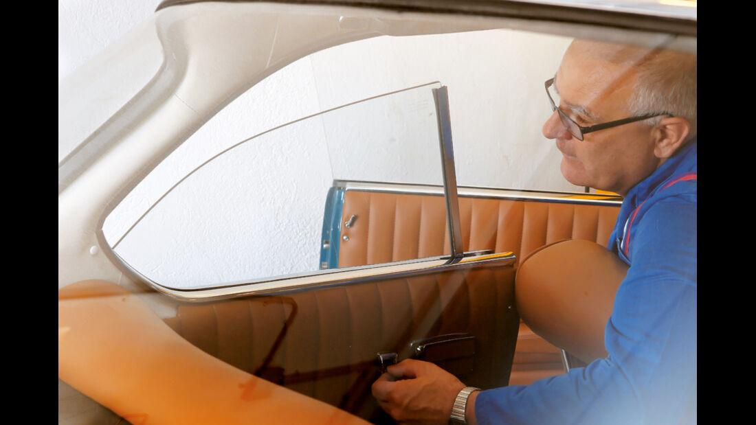 Restaurierung, BMW 3200 CS, Fenster