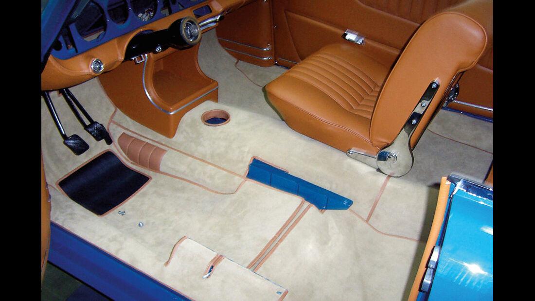 Restaurierung, BMW 3200 CS, Interieur