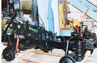 Restaurierung, Unimog 401, Chassis