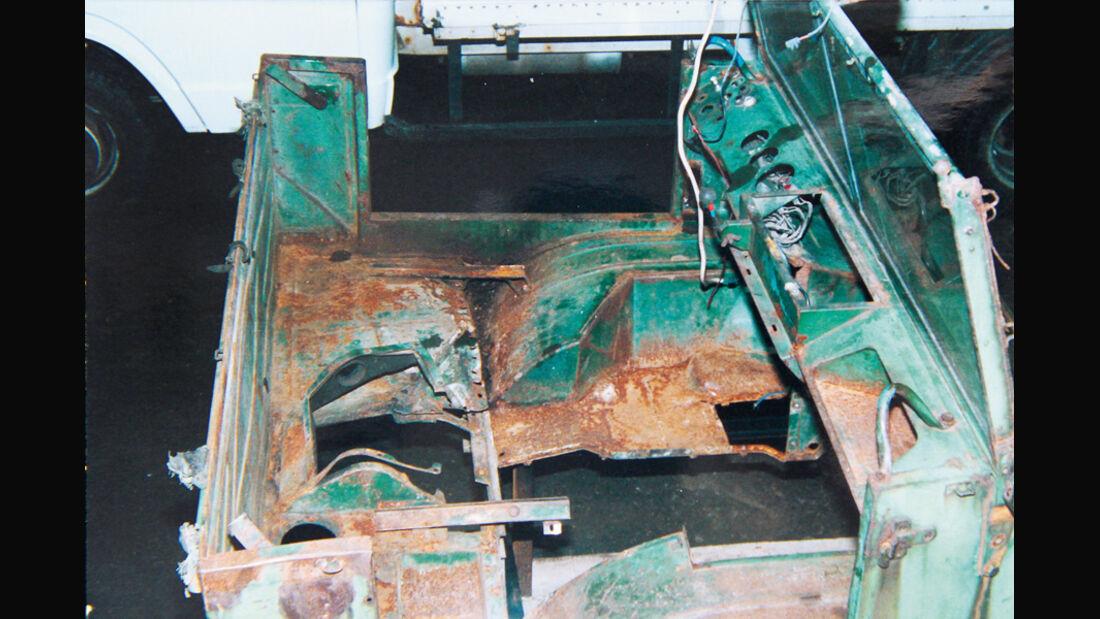 Restaurierung, Unimog 401
