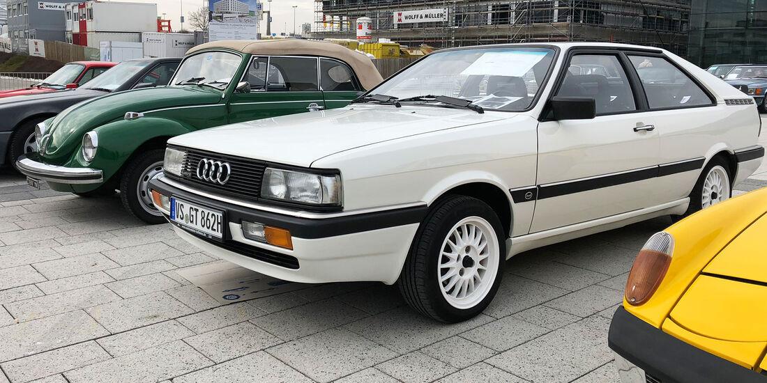Retro Classics 2018 Markt Stuttgart Audi