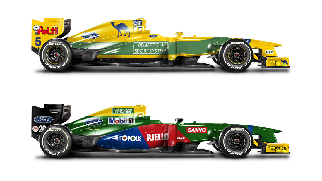 Retro F1 - Benetton B189 / Benetton B193