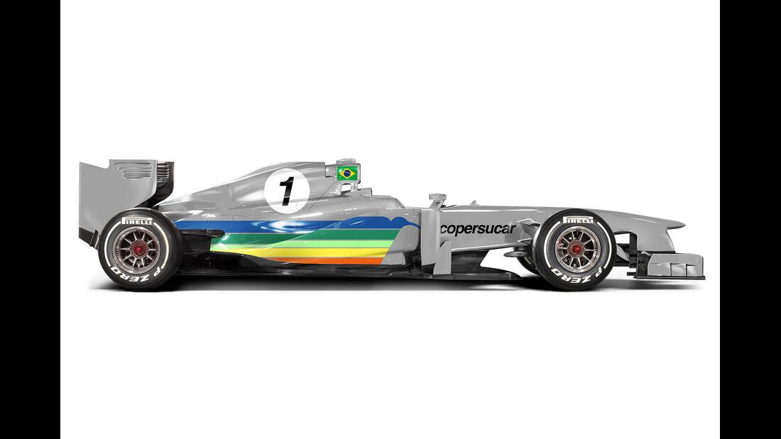 Retro F1 - Copersucar FD01