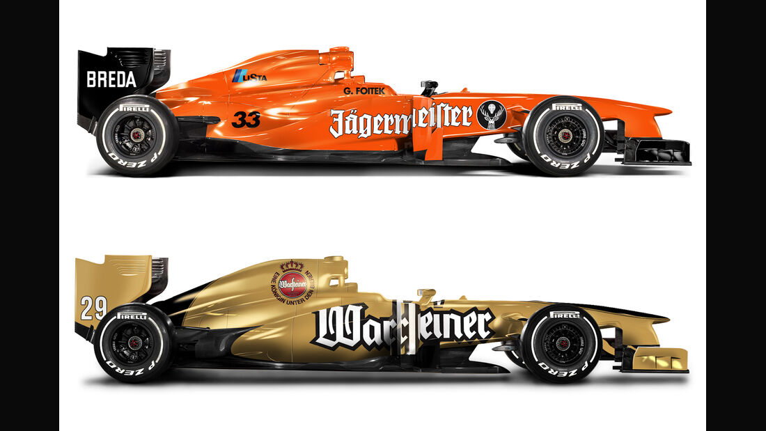 Retro F1 - Eurobrun ER 189 / Arrows Ford A2
