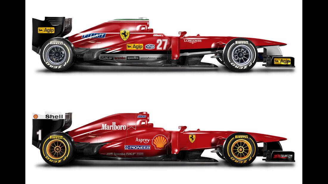 Retro F1 - Ferrari 126C2 / Ferrari F310