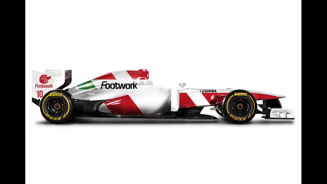 Retro F1 - Footwork FA13