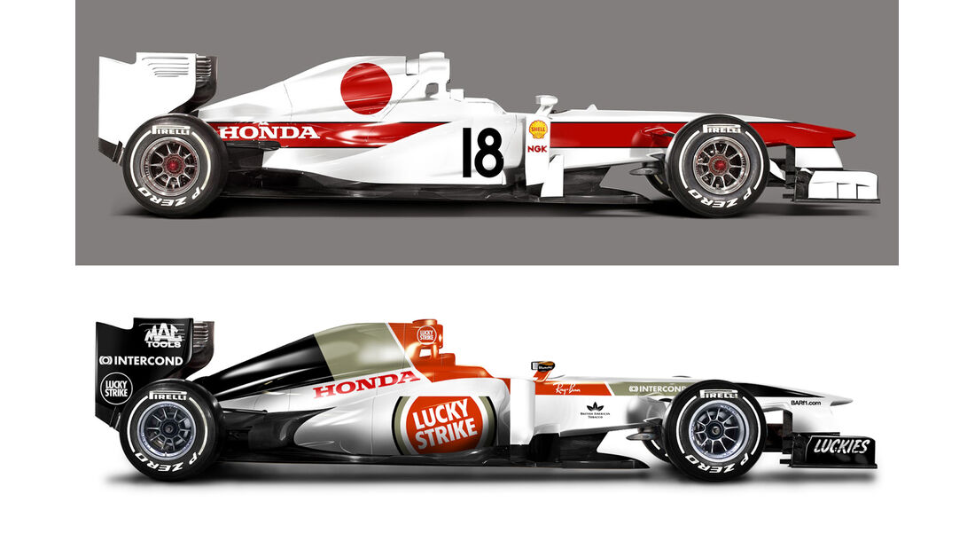 Retro F1 - Honda RA302 / BAR Honda 006