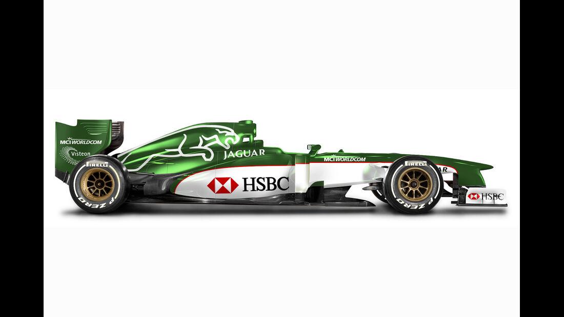 Retro F1 - Jaguar R1