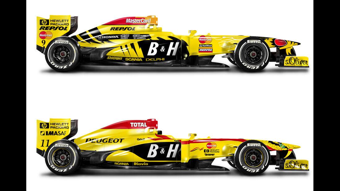 Retro F1 - Jordan 197 / Jordan 198