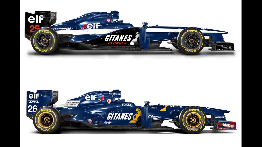 Retro F1 - Ligier JS41 / Ligier JS35
