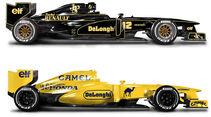 Retro F1 - Lotus 98T / Lotus 99T