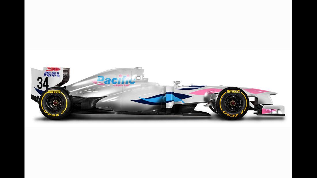 Retro F1 - Pacific PR01