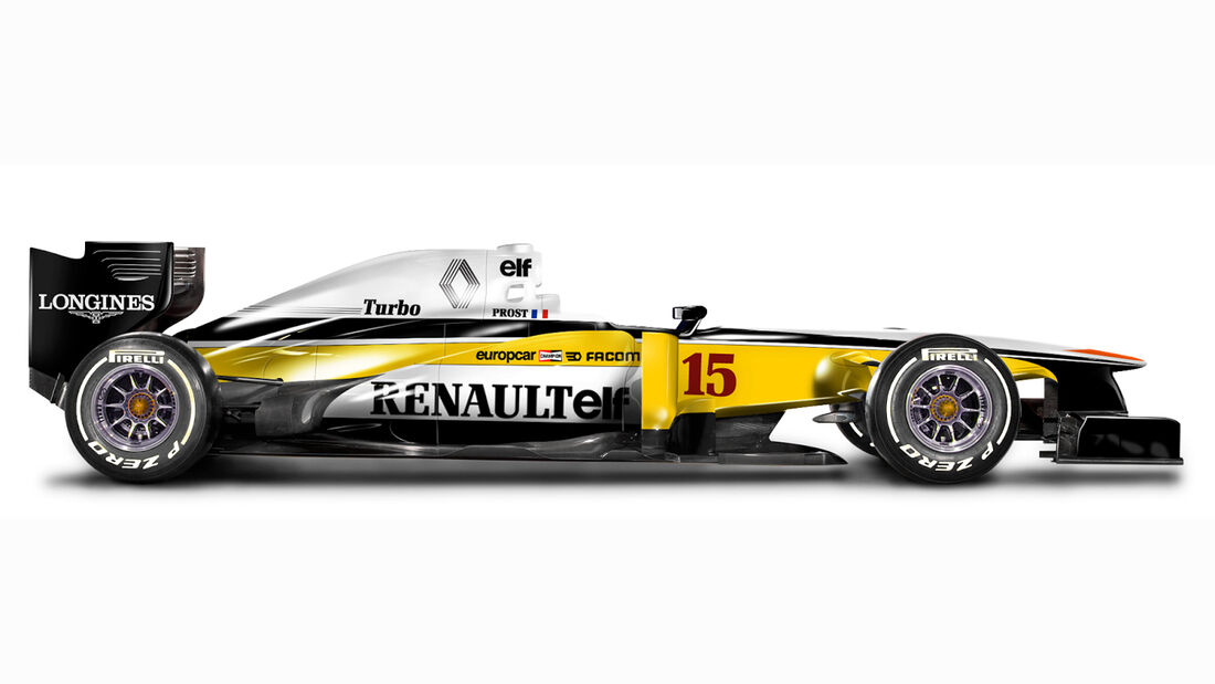 Retro F1 - Renault RE20
