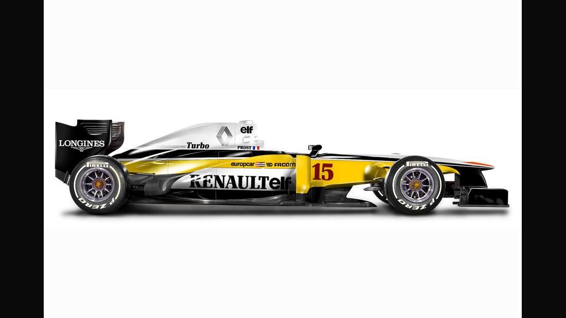Retro F1 - Renault RE20