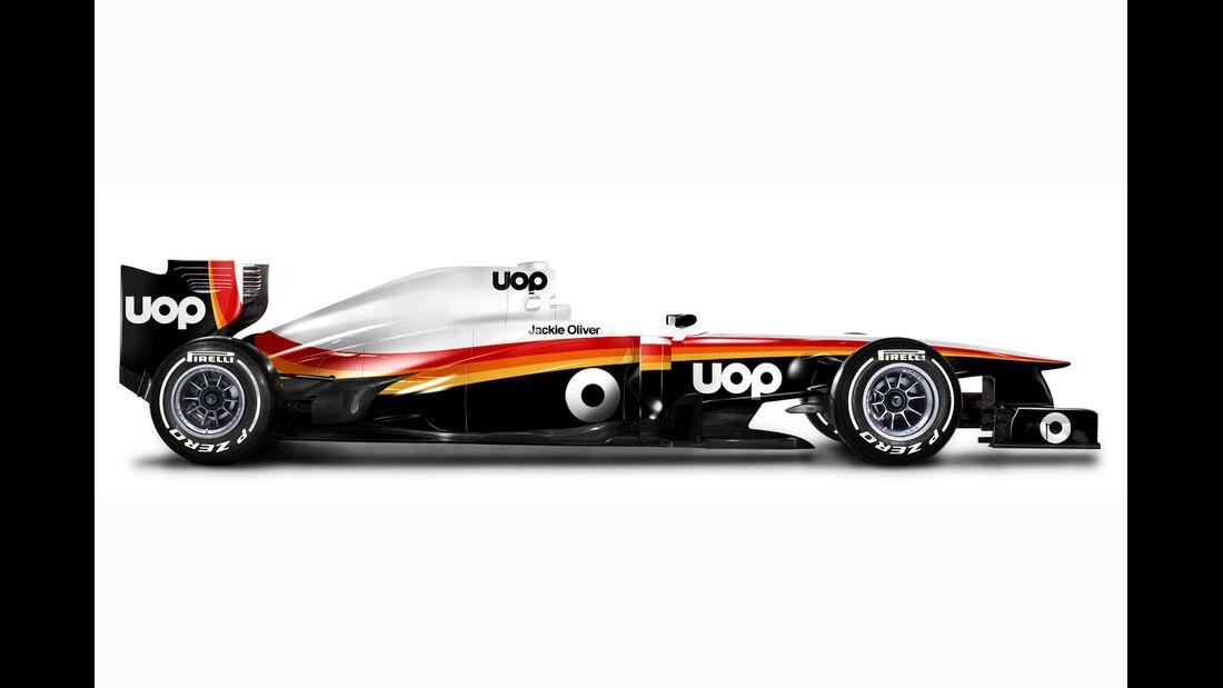 Retro F1 - Shadow DN6