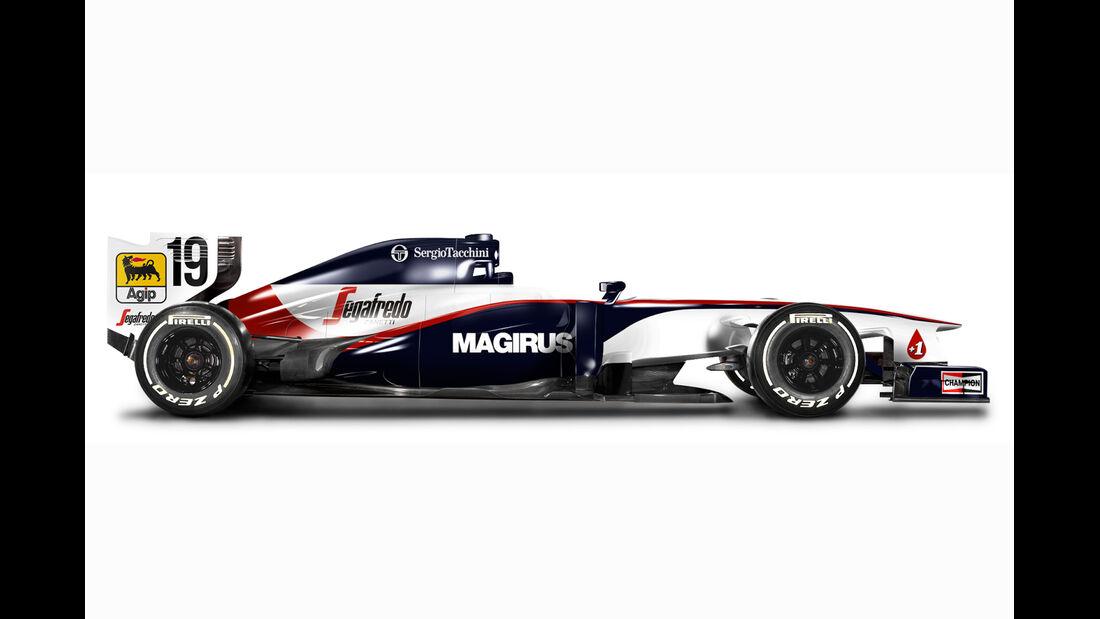 Retro F1 - Toleman TG183B
