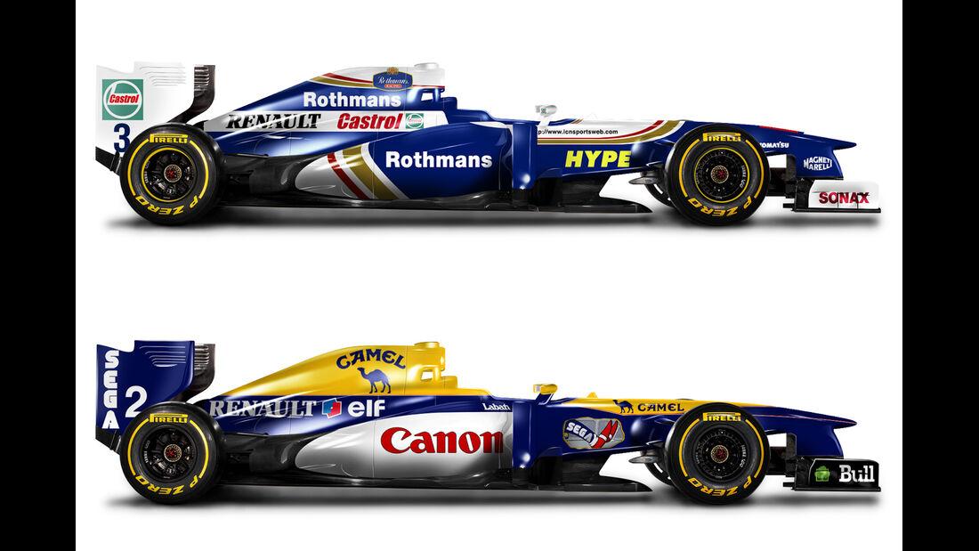 Retro F1 - Williams FW19 / Williams FW15C