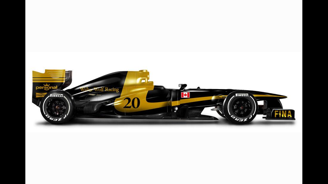 Retro F1 - Wolf WR1
