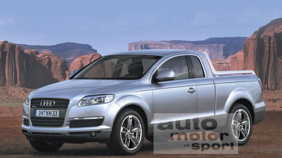 Retusche Audi Q7 Pickup
