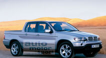 Retusche BMW X5 Pickup