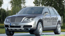 Retusche Bentley SUV