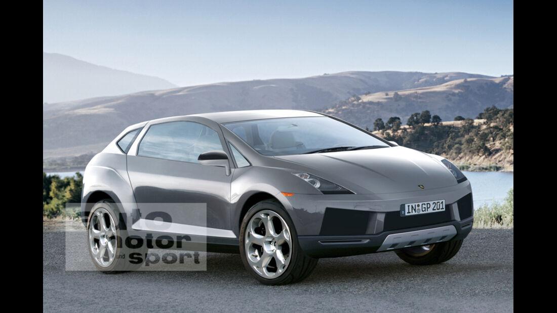 Retusche Lamborghini SUV