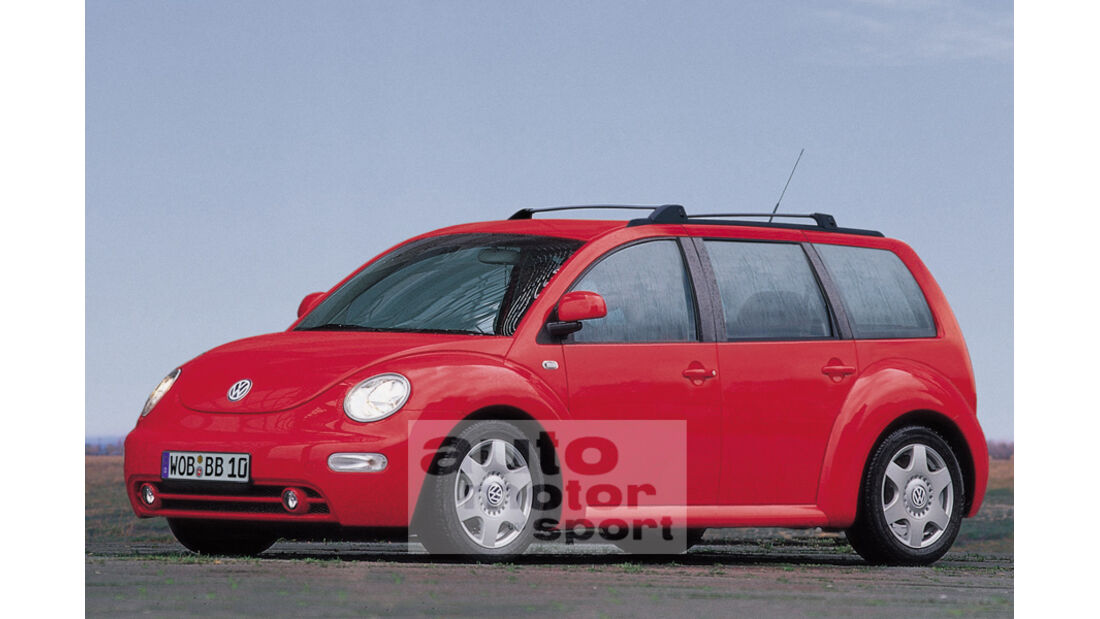 Retusche VW Beetle Kombi