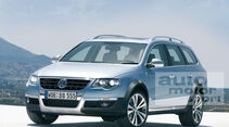 Retusche VW Passat Cross