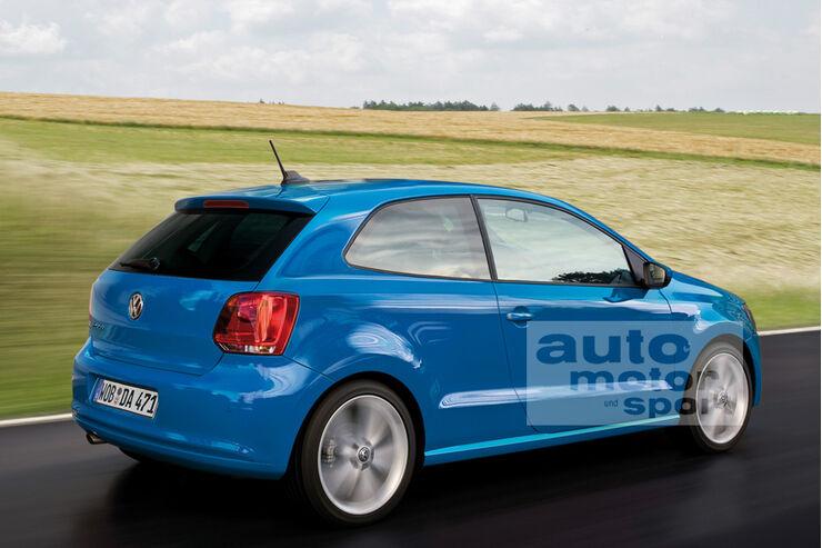 Retusche VW Polo