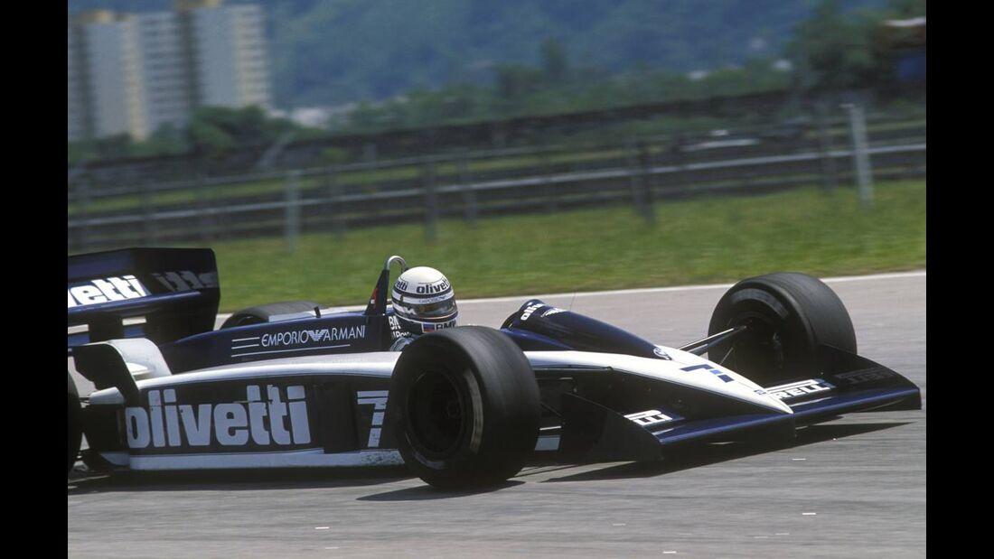 Ricardo Patrese Brabham-BMW BT55 1986