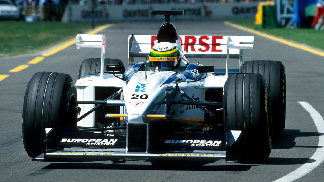 Ricardo Rosset - Tyrell 026 - GP Australien 1989