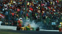 Riccardo Patrese - Benetton - GP Japan 1993