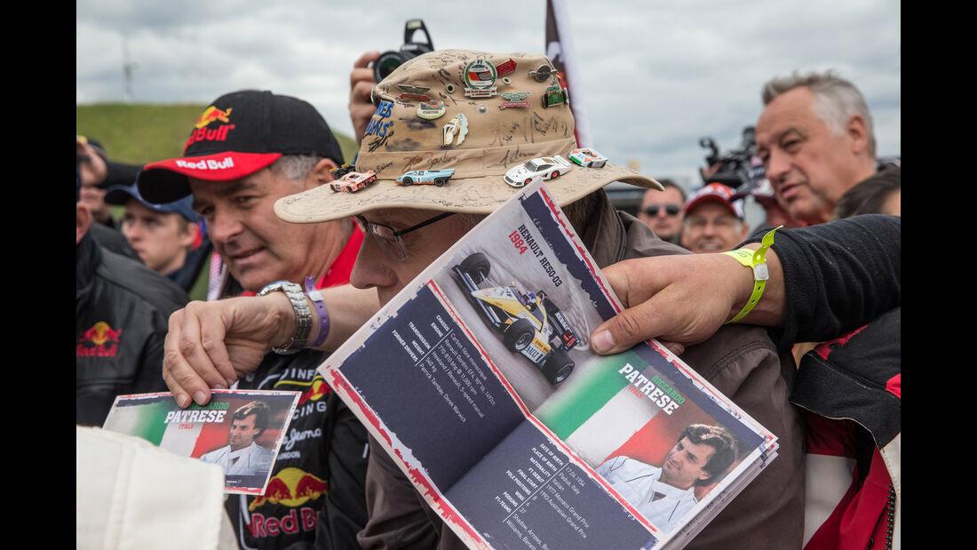 Riccardo Patrese - Formel 1 - GP Österreich 2015 - Danis Bilderkiste